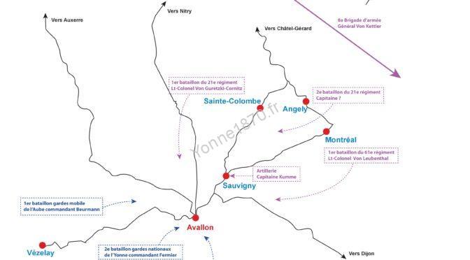 Combat d'Avallon du 16 janvier 1871